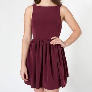 American Apparel Lola Button Back Dress